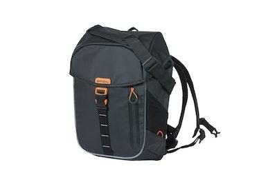 Basil Miles Tarpaulin Backpack Black 17L