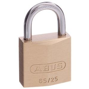 ABUS Brass Padlock 65/25 Keyed to Differ