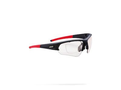Select Optic Sport Glasses Photochromic - Black/Red  - BSG-51PH