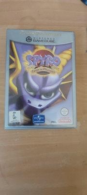 Gamecube Spyro:Enter The Dragonfly