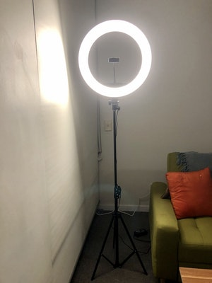 """Labellworld 19"""" 2M LED Ring Light Per Week Rental or One Week's Rent $25**"""