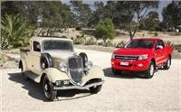 80 years on Ford celebrates pioneering evolution of Aussie iconic ute
