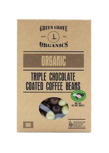 Triple Chocolate Coated Coffee Beans