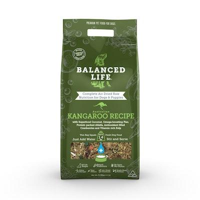 BALANCED LIFE Kangaroo Air Dried Dog Food 3.5kg