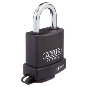 ABUS Steel Rust Free 83 Extreme Series KD With Weather Cover - Black