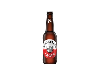 Cricketers Lager Bottle 330mL