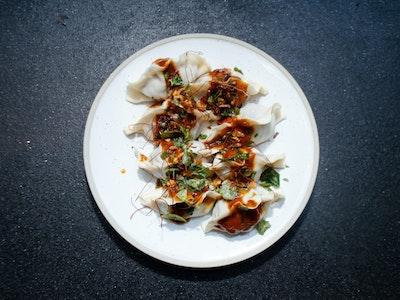 Pork, Shitake and Garlic Chive Dumplings (Pack Of 8)