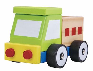 Tooky Toy WOODEN BLOCK TRUCK