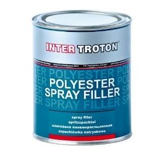 Troton Polyester Spray Filler 1kg Kit