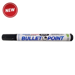 Penline Heavy Duty Bullet Point Marker/Box 12