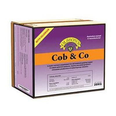 Olsson Cob & Co + Selenium Cattle & Sheep Feed Supplement 20kg