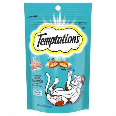 TEMPTATIONS Tempting Tuna Cat Treats 85G