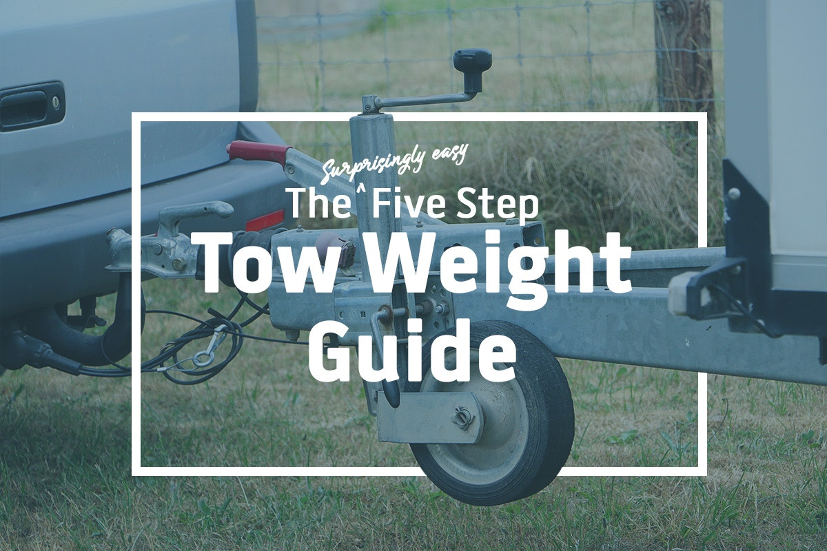 The - Surprisingly Easy - Five Step Tow Weight Guide