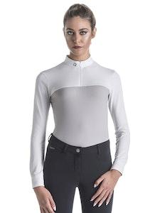 Ego7 Ladies Mesh Competiton Polo Long Sleeve