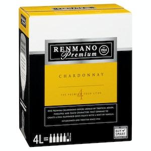 Renmano Premium Chardonnay Cask 4L