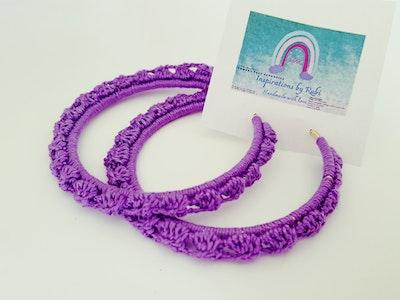 Inspirations by Rubi Earrings -Hand made crochet 2020