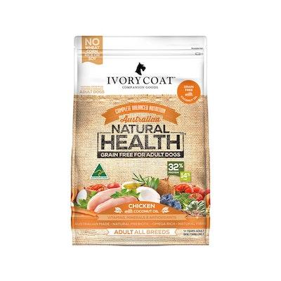 IVORY COAT Grain Free Dog Food Adult Chicken Coconut Oil 13KG