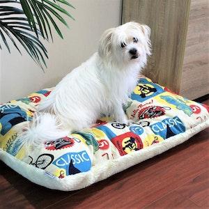 Queenie's Pawprints Eco Pet Bed/Cushion - Perfect Snooze | Retromania