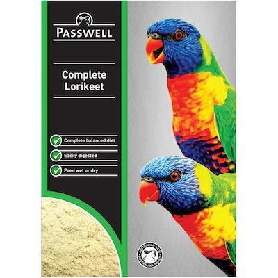 PASSWELL Complete Balanced Lorikeet Granular Powder - 5 Sizes
