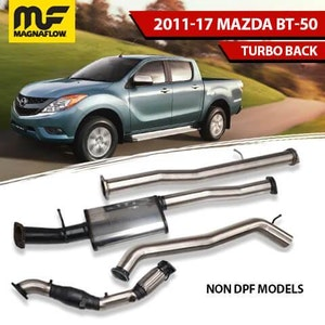 Mazda BT50 2011-2017 3.2L TD MagnaFlow Turbo Back Exhaust System No DPF