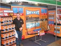UFixIt Windscreen Repairs stand at Brisbane show