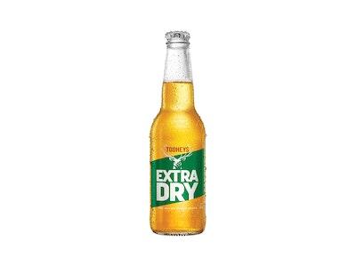 Tooheys Extra Dry Bottle 345mL