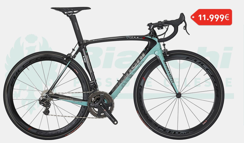 bianchi oltre xr2 campagnolo super record eps
