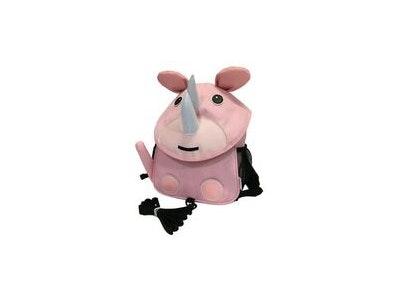 BibiLand BibiKids Small Harness Back Pack with lead - PINK RHINO