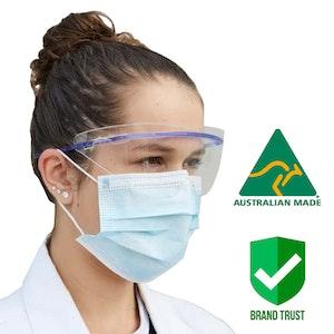 Protective Eye Shield (50pcs) AUSTRALIAN MADE Face shield -GX2
