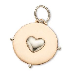 PALAS CIRCLE HEART CHARM