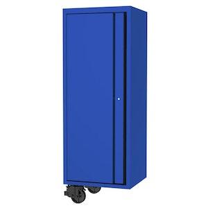 "Side Cabinet 4 Roller Shelves 1 Fixed Shelves 27"" USA Sumo Series BLUE/BLACK SP44880BL"