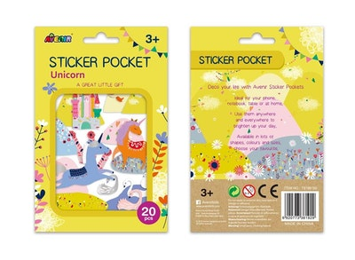 Avenir - Sticker Pocket - Unicorn