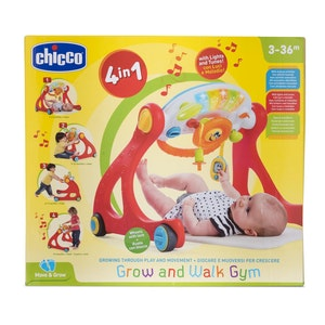Chicco Grow & Walk 4in1 Gym