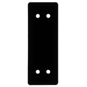 BDS 680 patio bolt 6mm acrylic packer finished in black
