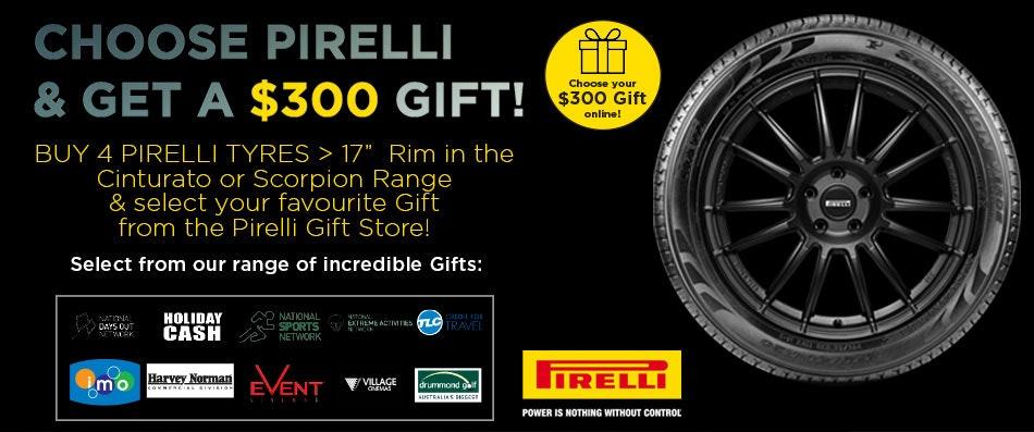 Pirelli Reward Promotion