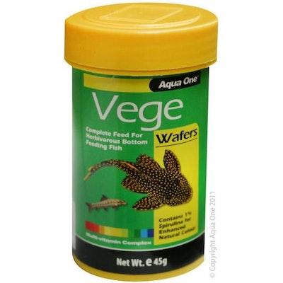 Aqua One AO Vege Wafer Food