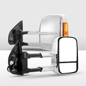 Pair Extendable Towing Mirrors for Isuzu D-Max MY 2012-2019