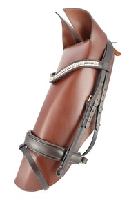 Dressage Bridle With Bling Browband