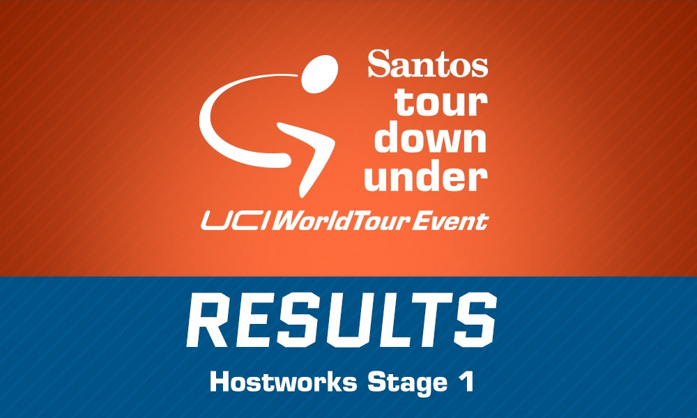 TDU 2015 Hostworks Stage 1 Results