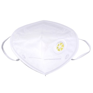 N95 Flat folded particular RESPIRATOR with valve