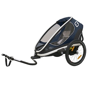 Hamax OUTBACK ONE TRAILER WITH RECLINE - BLUE/WHITE