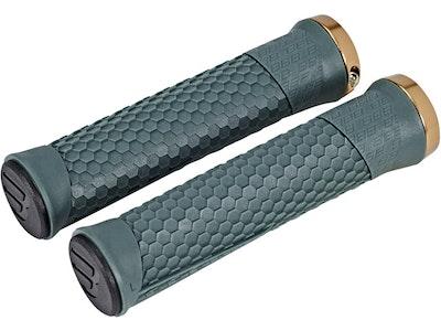 BBB Python Grips 142Mm Moss Green/Lockring Copper