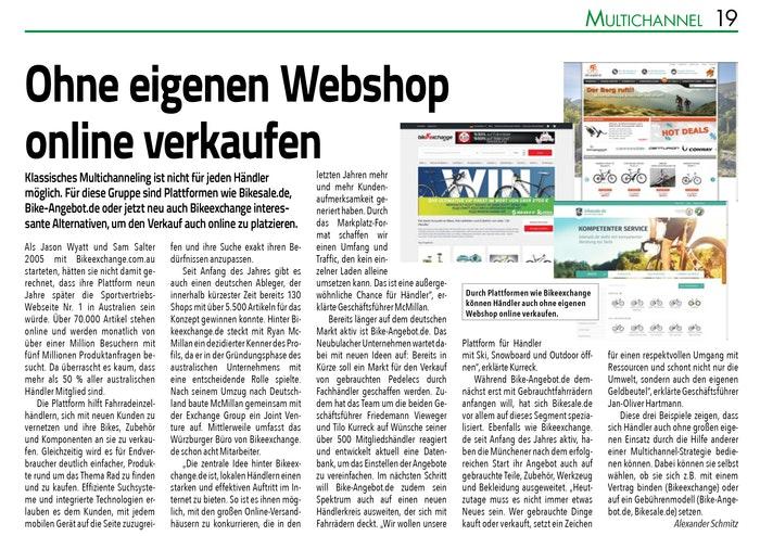 Presse 3 - SAZ - Ohne eigenen Webshop online verkaufen