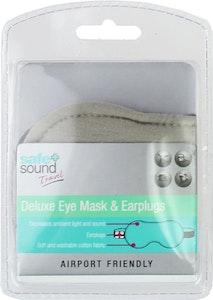 Safe + Sound Deluxe Eye Mask & Earplugs