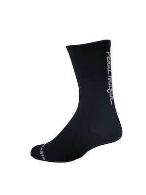 Pedal Mafia Pro Sock - Black White 2.0