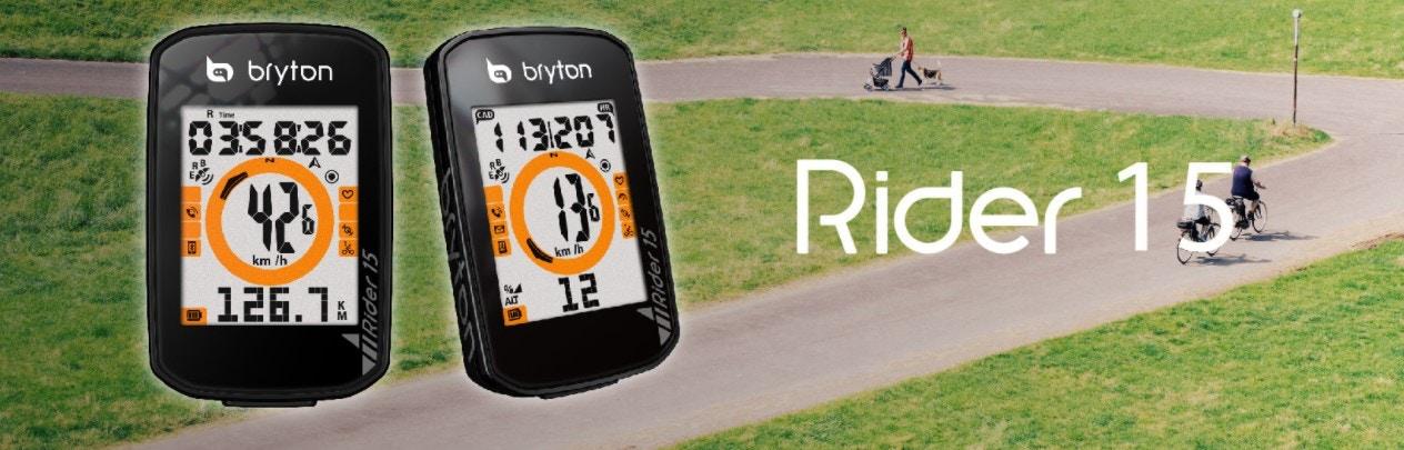 Bryton - Bryton Unveils New Smart Bike Computer: The Rider 15