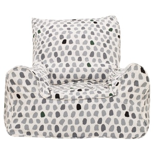 Play Pouch Splotches Bean Chair - Green & Grey