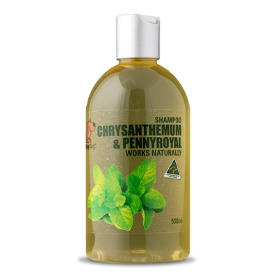 Smiley Dog Organic Extract Chrysanthemum & Pennyroyal Shampoo