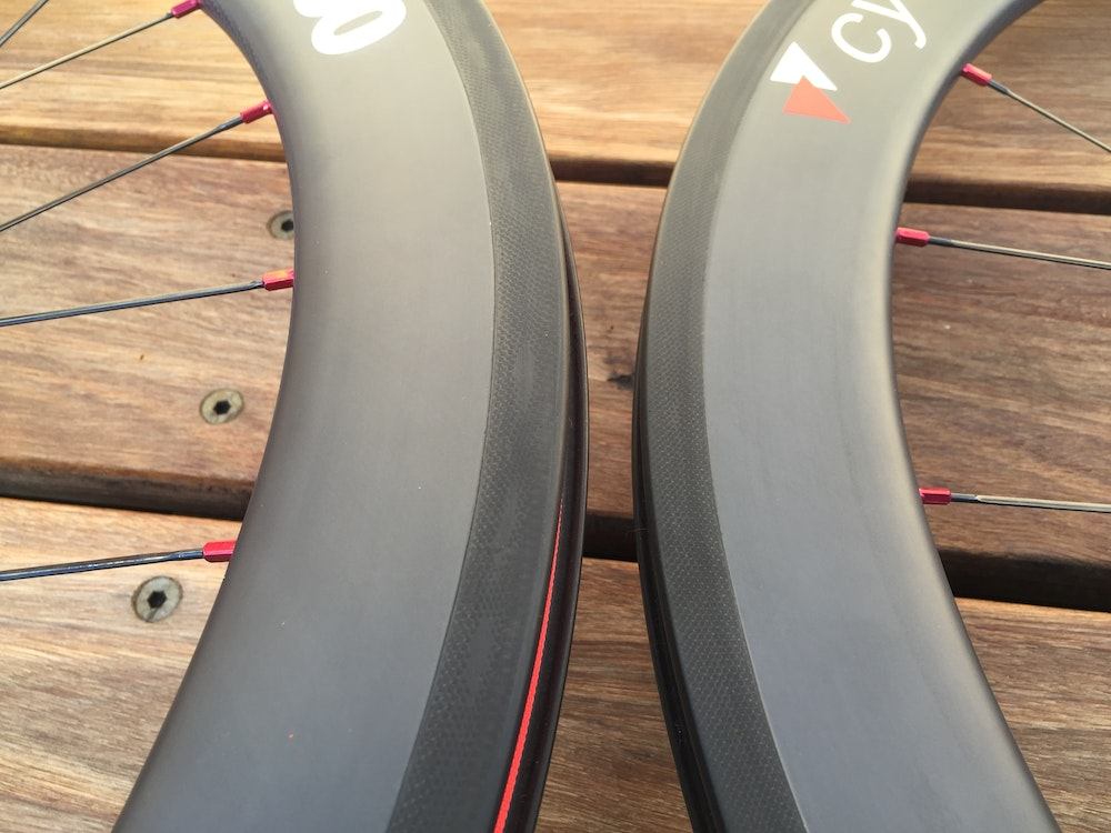 MoFo Cycling Wheelset BikeExchange brake track
