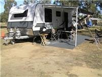 Solar powers GSA caravan and office equipment
